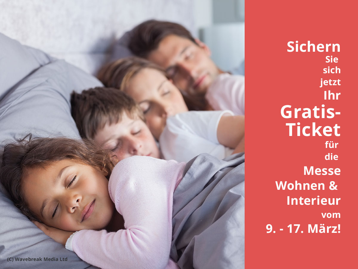 Mit Betten Von BettenHauser Gut Schlafen! C) Wavebreak Media Ltd.